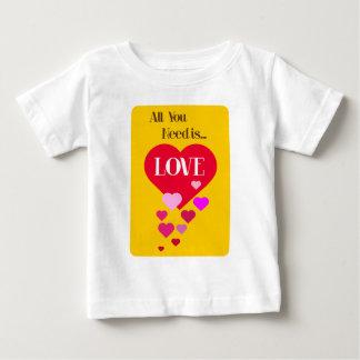 あなたが必要とするのは愛だけです ベビーTシャツ