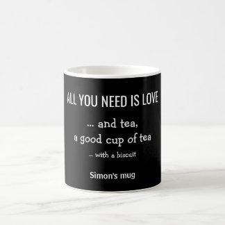 あなたが必要とするColourshotはすべて茶です コーヒーマグカップ