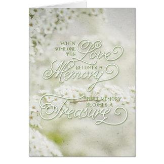 あなたが愛する誰か時秘蔵された記憶はなります カード