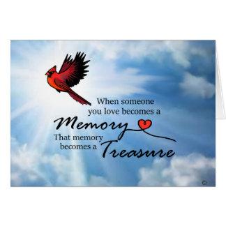 あなたが愛する誰か時、(鳥)ショウジョウコウカンチョウ カード