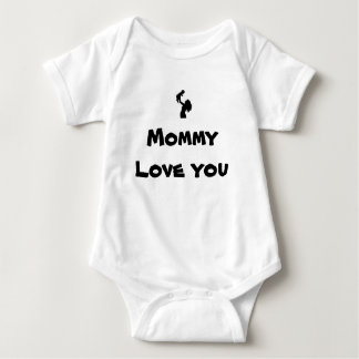 あなたが服を着せる幼児お母さん愛 ベビーボディスーツ