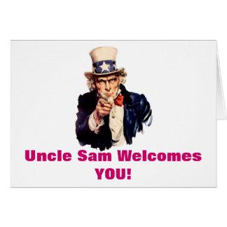 あなたが梳く米国市民歓迎 カード