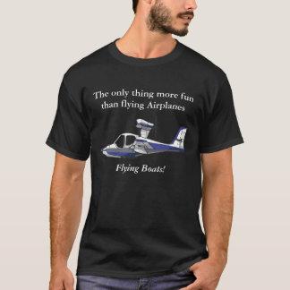 あなたが水上飛行機を愛する世界を示して下さい Tシャツ