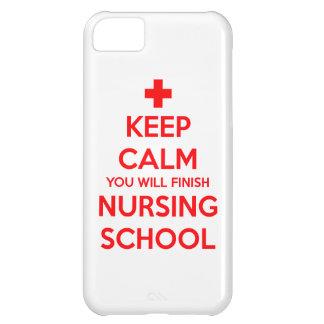 あなたが看護専門学校を終える平静を保って下さい iPhone5Cケース