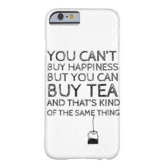 あなたが茶iPhone 6を買うことができる幸福を買うことができません Barely There iPhone 6 ケース