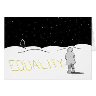 あなたが見たいと思う変更は小便をします: 平等 カード