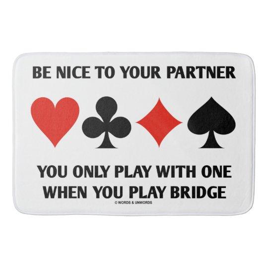 あなたが1人とだけ遊ぶあなたのパートナーにニースがあって下さい バスマット