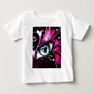 あなただけのためのハートの目 ベビーTシャツ