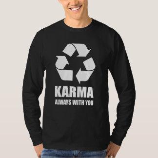 あなたとの常のカルマおもしろいな仏教の仏 Tシャツ