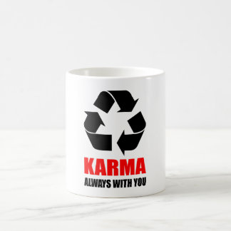 あなたとの常のカルマ仏の仏教のおもしろい コーヒーマグカップ