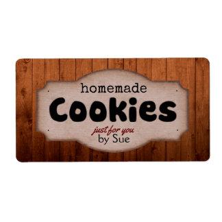 あなたによる手製のクッキーヴィンテージのラベル 発送ラベル