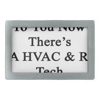 あなたのおかげで今そこにFamのHVAC Rの技術です 長方形ベルトバックル