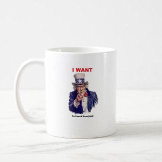 あなたのがらくたに触れて下さい コーヒーマグカップ