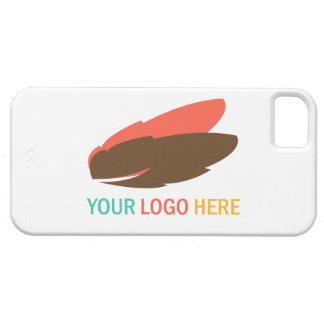 あなたのここのロゴビジネス昇進のマーケティング iPhone SE/5/5s ケース