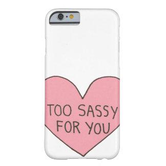 あなたのために余りに粋 BARELY THERE iPhone 6 ケース