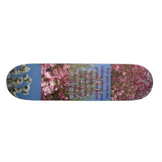 あなたのために私の隠れ場所のスケート板はあります 20CM スケートボードデッキ