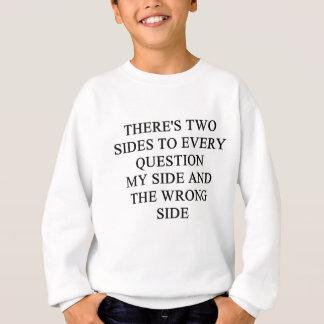 あなたのためのおもしろいな離婚のアイディア! スウェットシャツ