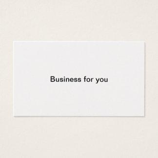 あなたのためのビジネス 名刺