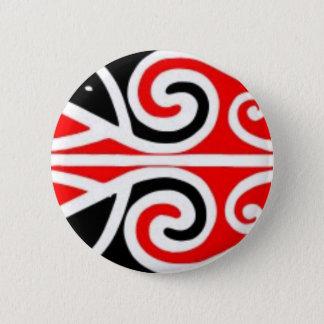 あなたのためのマオリのデザインの種族の芸術 5.7CM 丸型バッジ