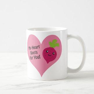 あなたのための私のハートのビート コーヒーマグカップ