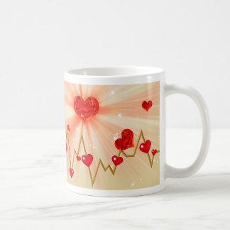 あなたのための私の心拍 コーヒーマグカップ