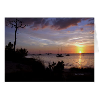 """""""あなたのための私の願い""""水晶ビーチ、フロリダ カード"""