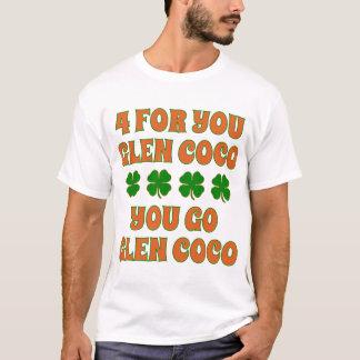 あなたのための4谷間のココヤシのSt patricks dayのTシャツ Tシャツ