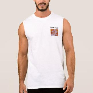あなたのためのMOのギアからの袖なしのティーは激しく住んでいます 袖なしシャツ