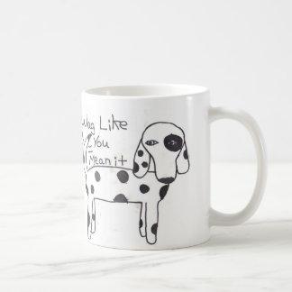 あなたのようなおどけ者平均それコップ! コーヒーマグカップ