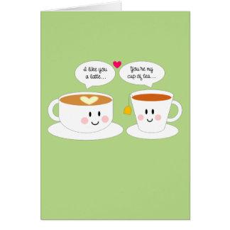 あなたのようにラテ記念日カード カード