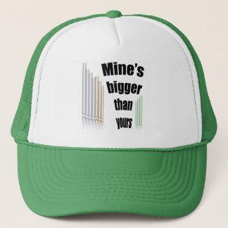 あなたのより大きい鉱山 キャップ