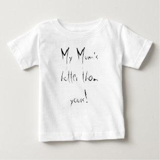 あなたのより熱い私のミイラ! ベビーTシャツ