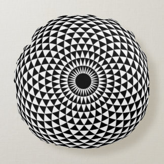 あなたのインテリアのための催眠性の円形の枕 ラウンドクッション