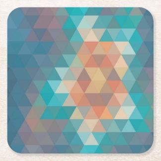 あなたのカスタムな正方形のコースター-パターンデザイン スクエアペーパーコースター