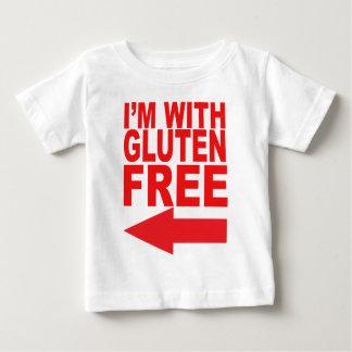 あなたのグルテンなしの最愛の人のためのあなたのサポートを示して下さい! ベビーTシャツ