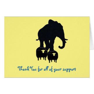 あなたのサポートをありがとう カード