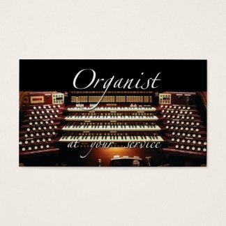 あなたのサービス業カード#2のオルガン奏者 名刺
