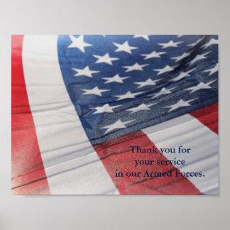 あなたのサービス武力ポスターをありがとう ポスター