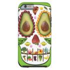 あなたのスカルのiPhone 6の場合に堅い場合を食べ物を与えて下さい ケース