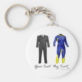 あなたのスーツ私のスーツのキーホルダー キーホルダー