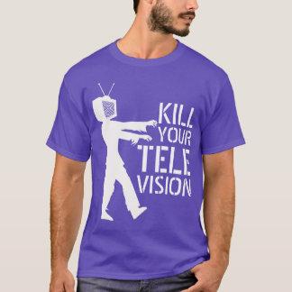 あなたのテレビのワイシャツを殺して下さい Tシャツ