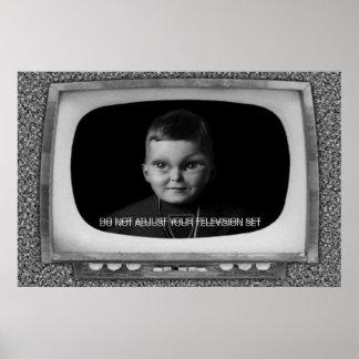 あなたのテレビを調節しないで下さい ポスター