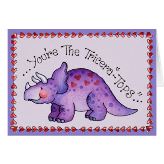 あなたのトリケラトプス-挨拶状 カード