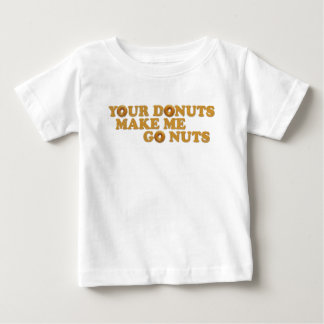 あなたのドーナツは私を興奮させます ベビーTシャツ