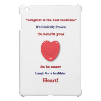 あなたのハートに寄与すると臨床的に証明される笑い声 iPad MINIカバー