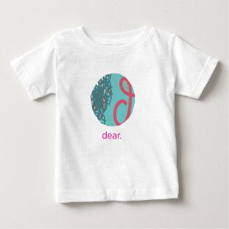 あなたのハートのティーに親愛 ベビーTシャツ