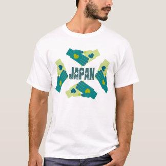 あなたのハートを貸し、日本救助活動を渡します Tシャツ