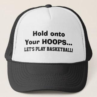 あなたのバスケに把握はおもしろいなバスケットボールを遊ぼう キャップ