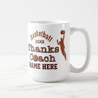 あなたのバスケットボールのコーチに与える素晴らしいギフト コーヒーマグカップ