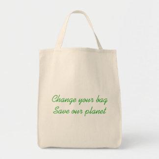 あなたのバッグを変えて下さい トートバッグ